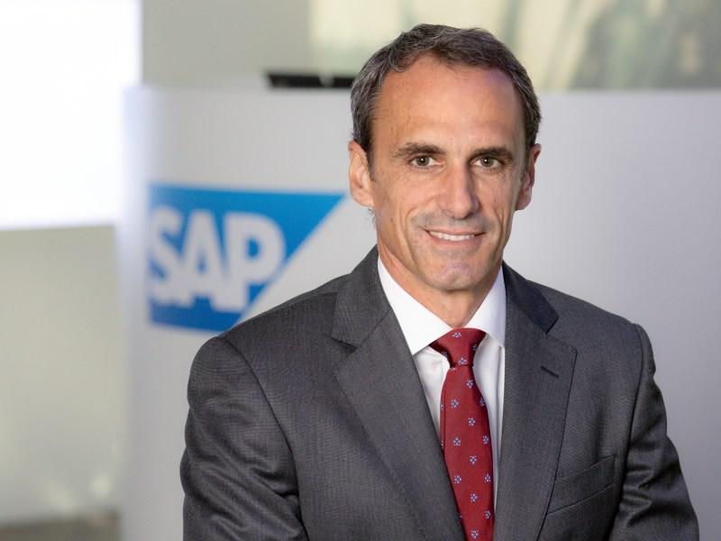 Rafael Brugnini, director general de SAP España.