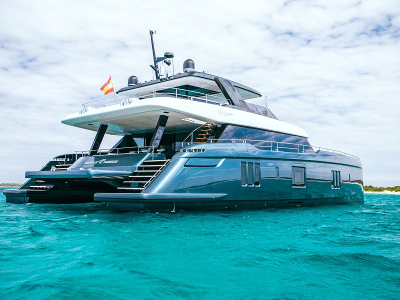 El catamarán 80 Sunreef Power Great White. Foto: Sunreef Yatchs