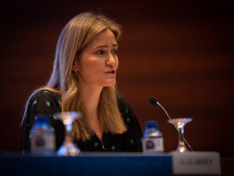 Sara Aagesen, secretaria de Estado de Energía. Foto: David Zorrakino (EP)