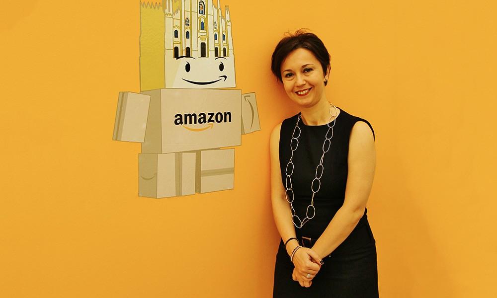 La directora general de Amazon en Italia y España, Mariangela Marseglia.