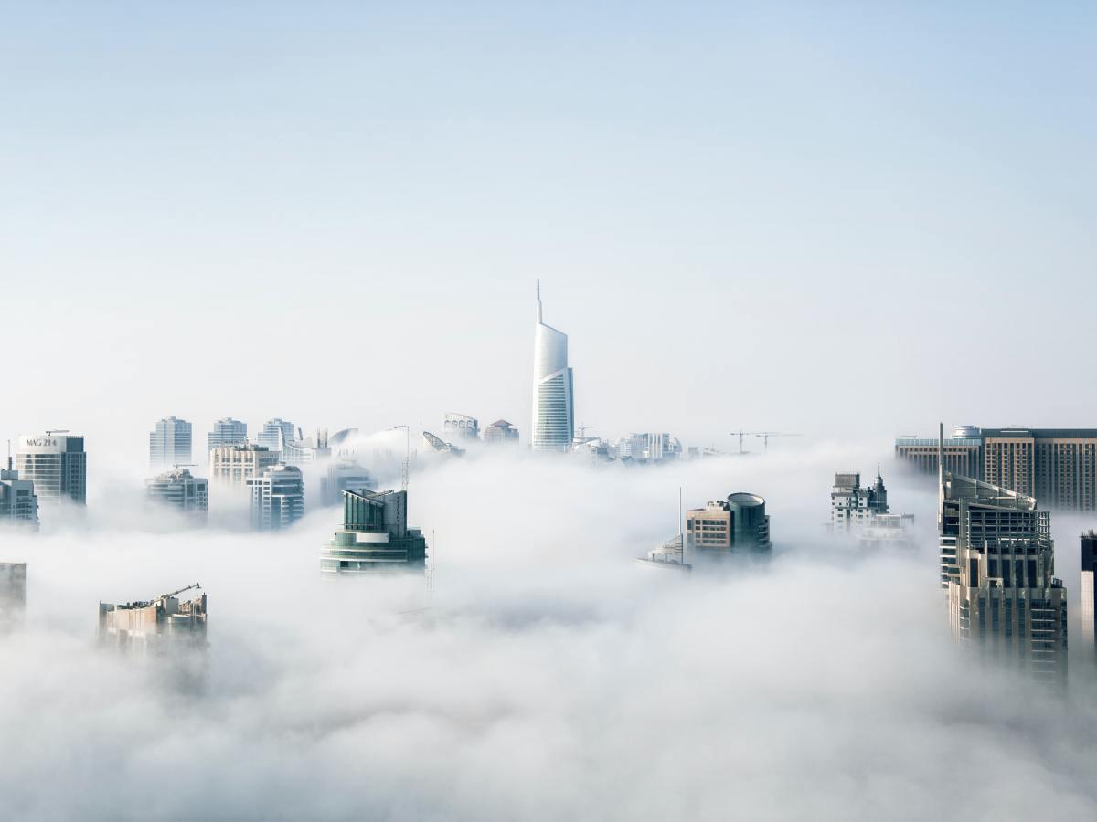 Ciudad del futuro. Foto: Aleksandar Pasaric (Pexels)