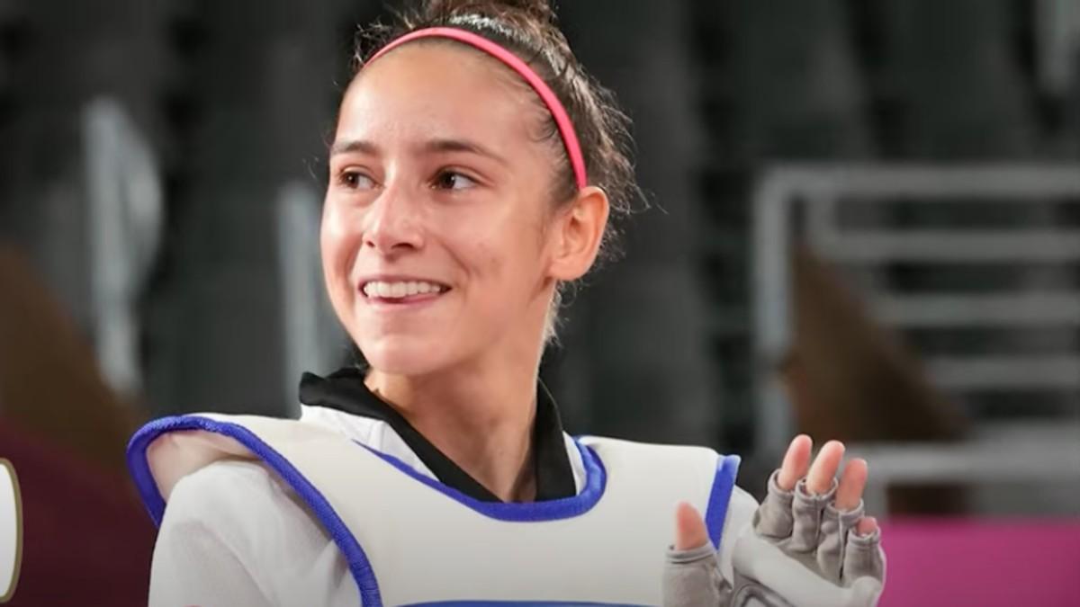 Adriana Cerezo, medallista española en los Juegos Olímpicos de Tokyo.