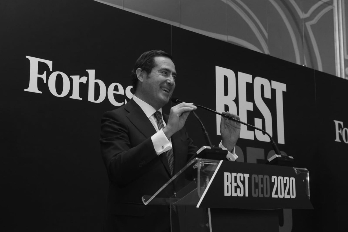 Antonio Garamendi, Presidente de la CEOE. Foto: Luis Camacho