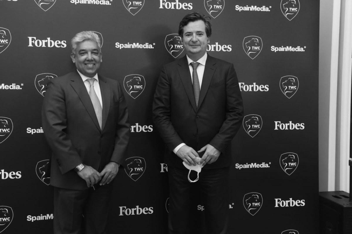 Baihas Baghdadi, CEO y Fundador de Trade & Working Capital, y Óscar Heckh, Presidente en Networksteel Resources. Foto: Luis Camacho