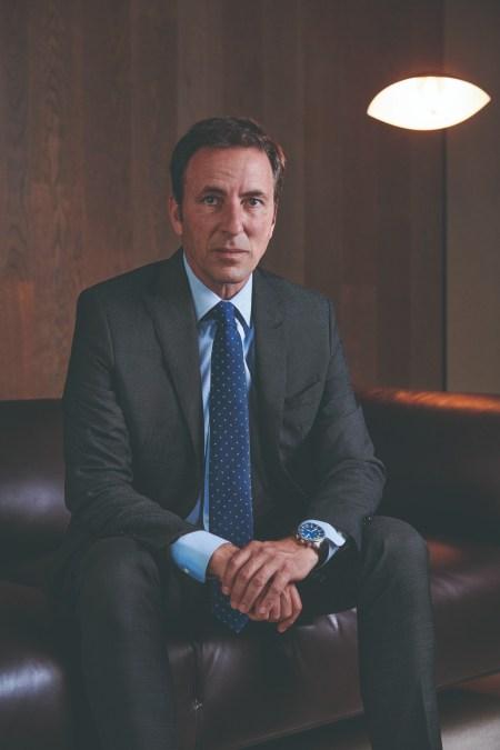 Carlos Ventura, director general de Empresas y Red de Banco Sabadell, fotografiado en sus oficinas de Sant Cugat (Barcelona, Cataluña)