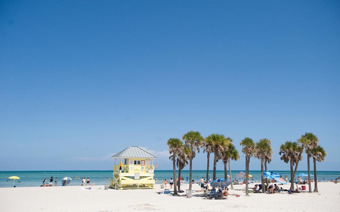 Crandon Park en Key Biscayne (Miami, Florida). Foto: www.miamiandbeaches.lat