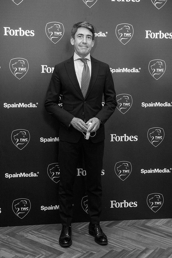 Domingo Mirón, Presidente de Accenture. Foto: Luis Camacho