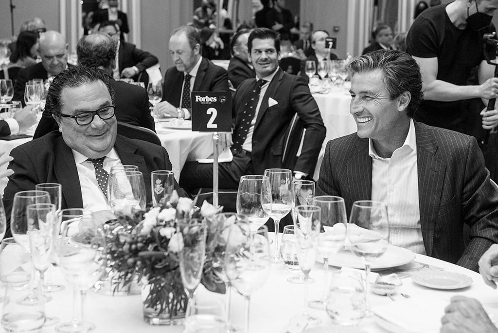 Ignacio Quintana, Director General de SpainMedia, y Federico Linares, Presidente de EY España. Foto: Luis Camacho