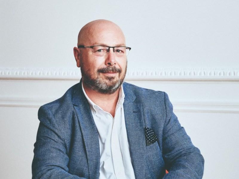 Fernando Prieto, CEO de HomeServe, retratado para la revista 'Forbes'. Foto: Jacobo Medrano