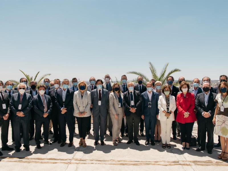 La alianza #CEOPorLaDiversidad celebra el primer encuentro presencial de su segundo año de andadura, en Madrid a 7 de julio de 2021. Foto: Ana Encabo (EP)