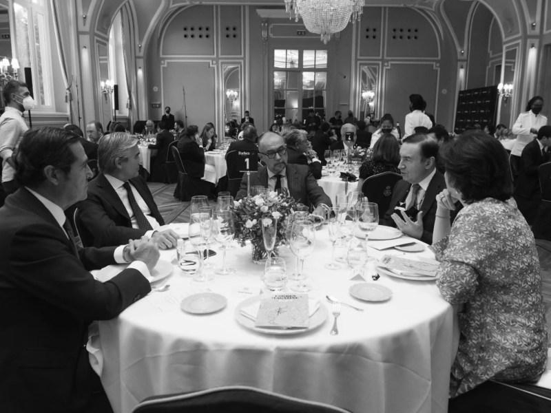 Mesa presidencial. Foto: Luis Camacho