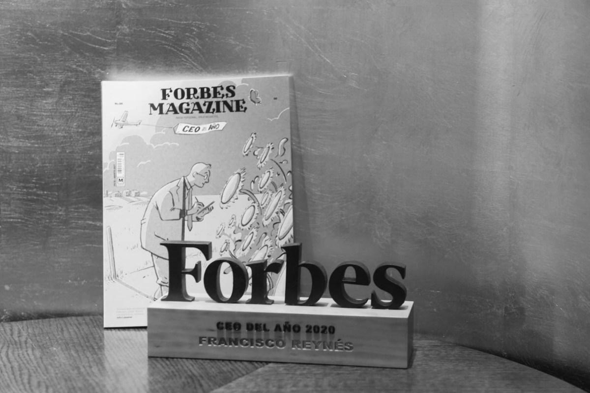 Premio Forbes Mejor CEO 2020. Foto: Luis Camacho