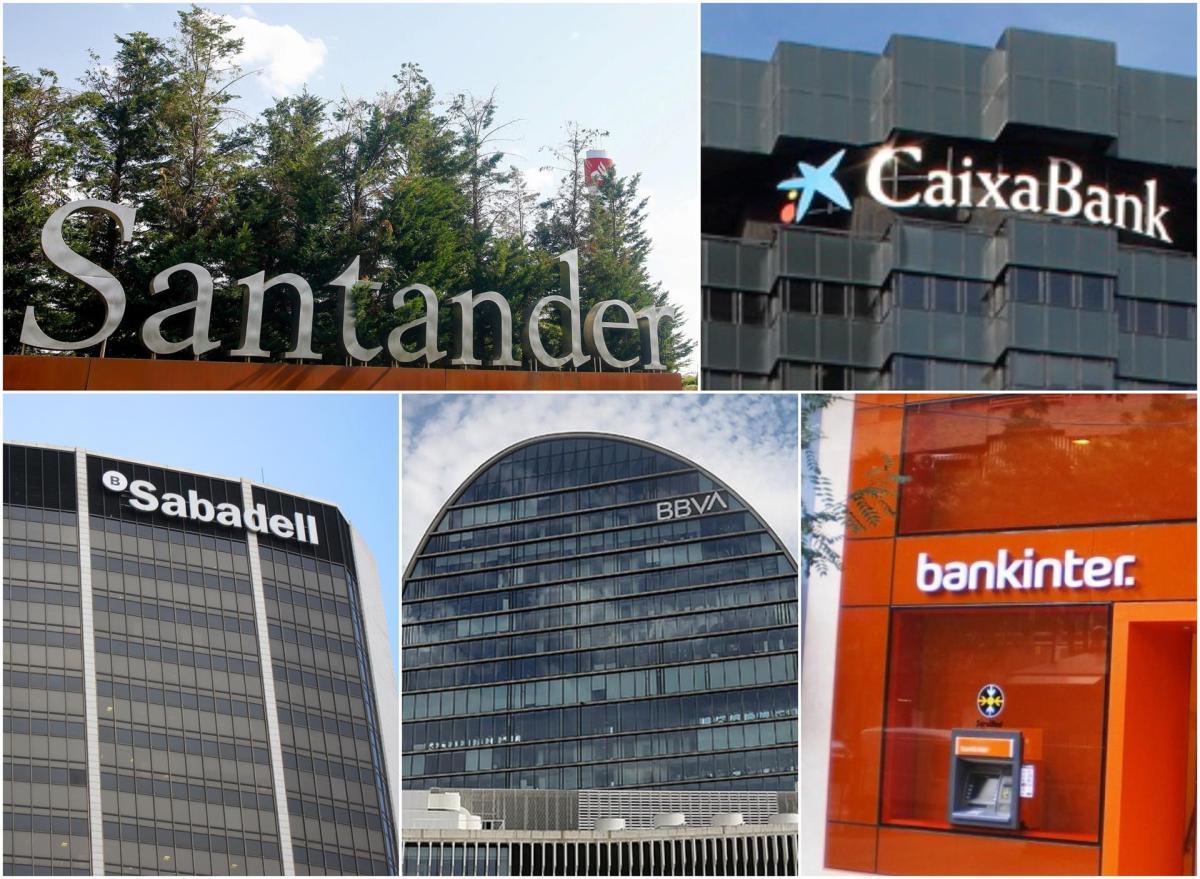 Banca española. Foto: EP