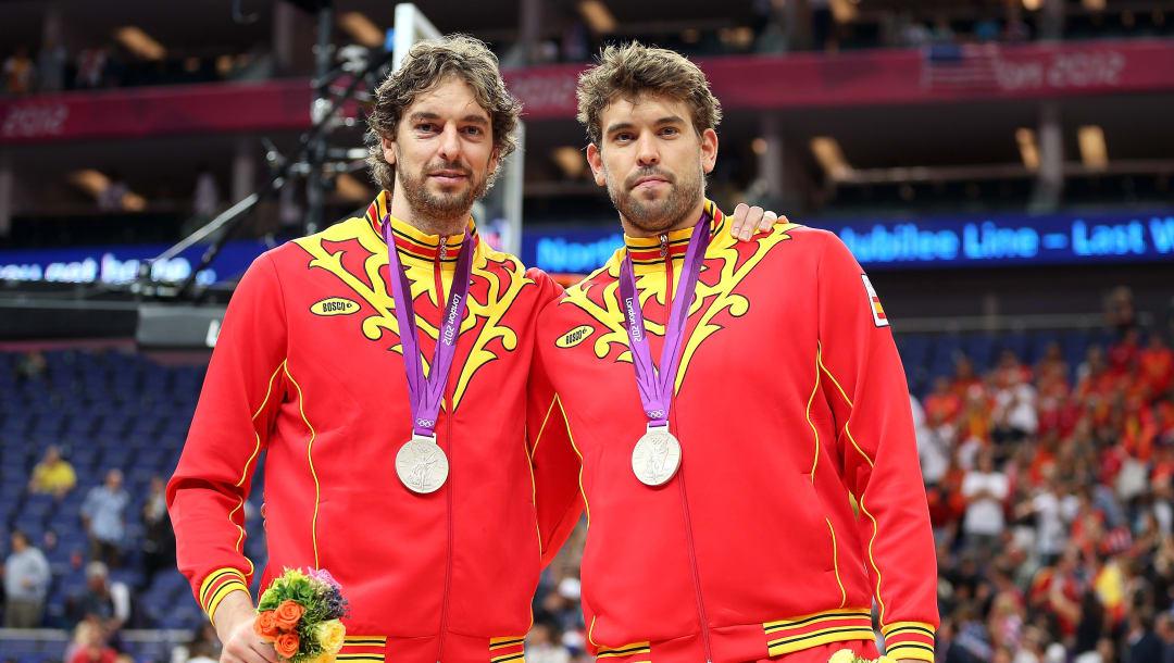 Los hermanos Pau y Marc Gasol. Foto: COE