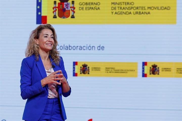 Raquel Sanchez, ministra de Transportes, Movilidad y Agenda Urbana