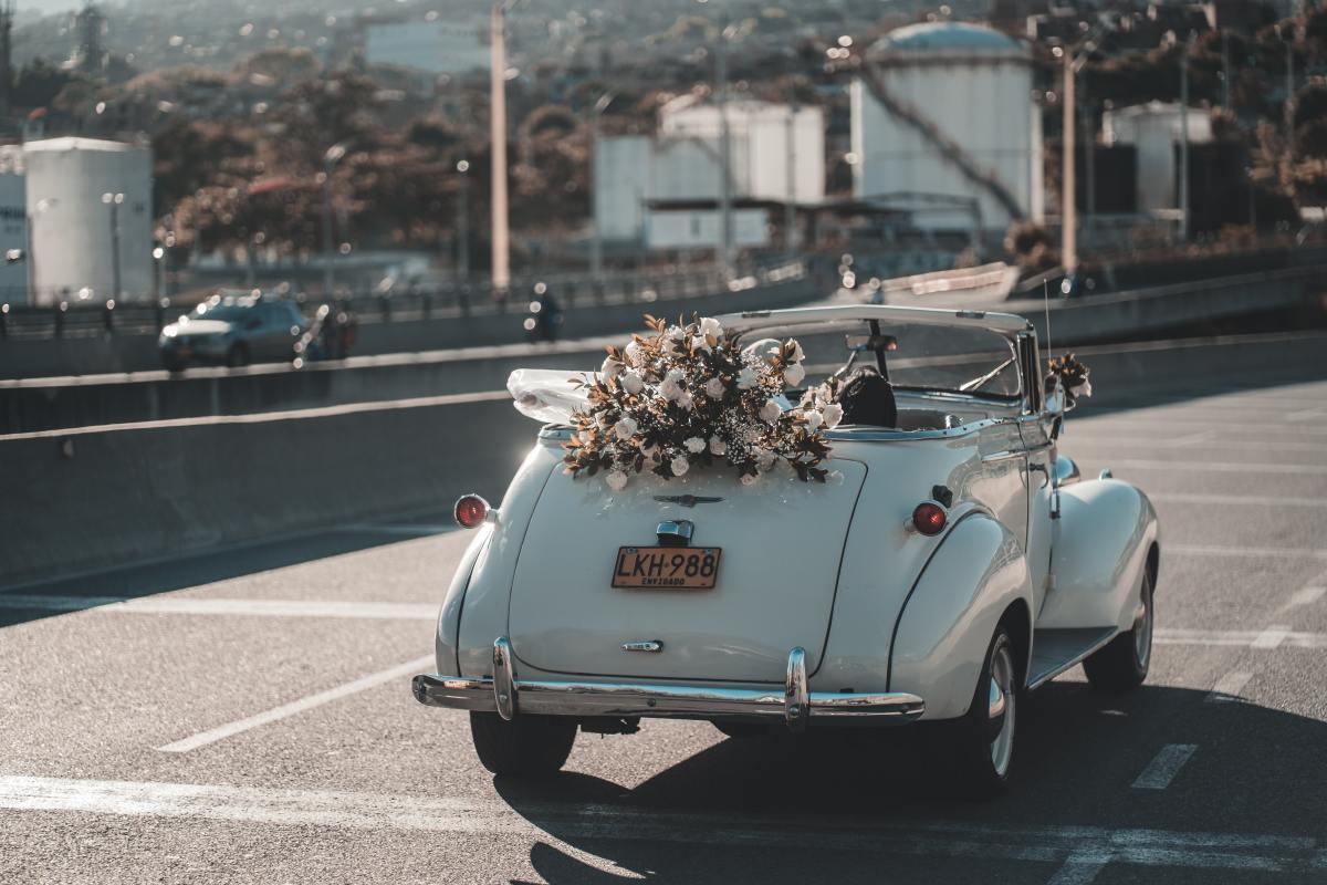 Boda. Recién casados. matrimonio. Foto: Cleyder Duque (Pexels)