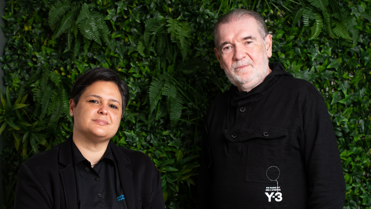 Tibaire Depool y Luigi Amendola, de la consultora PMM Innovation Group.