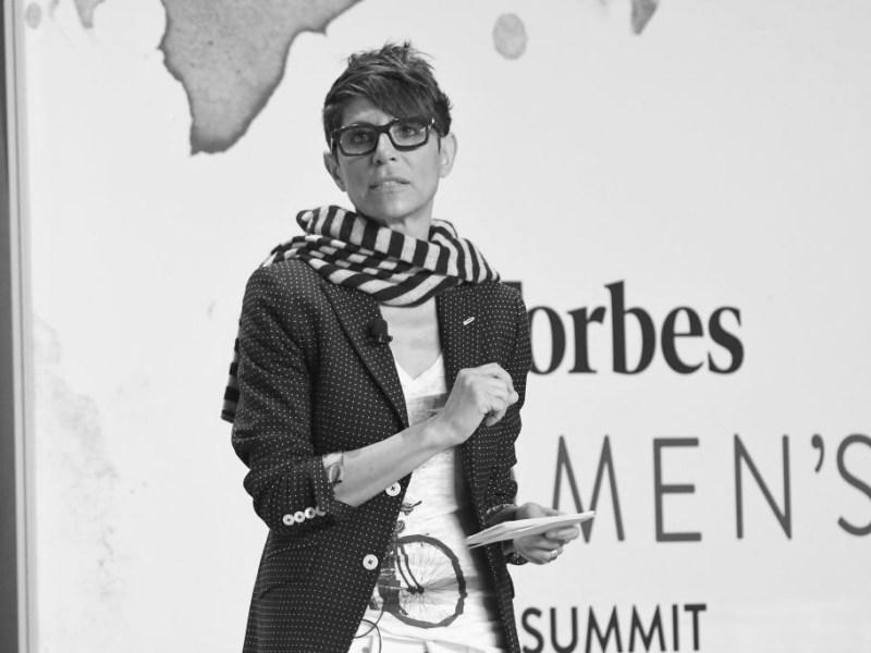 La chef Dominique Crenn durante su intervención en el Forbes Women's Summit 2017 celebrado en Nueva York (Estados Unidos). Foto: Gary Gershoff/WireImage (Getty Images)