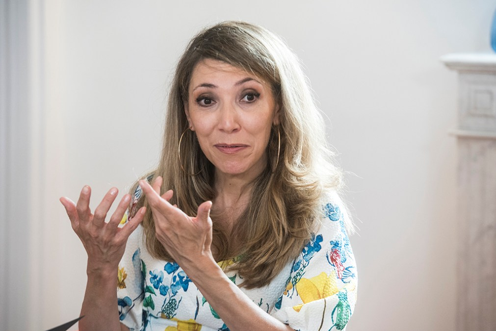 Irene Cano, Directora General de Facebook Iberia. (Foto: Luis Camacho)