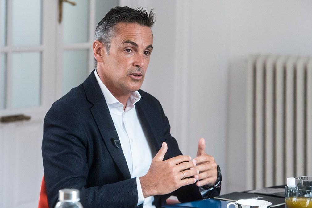 Juan Ortí, CEO de American Express. (Foto: Luis Camacho)