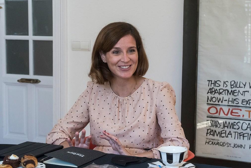 Paula Llop, Directora de Relaciones Empresariales de Mercadona y Coordinadora del proyecto #EActívate. (Foto: Luis Camacho)