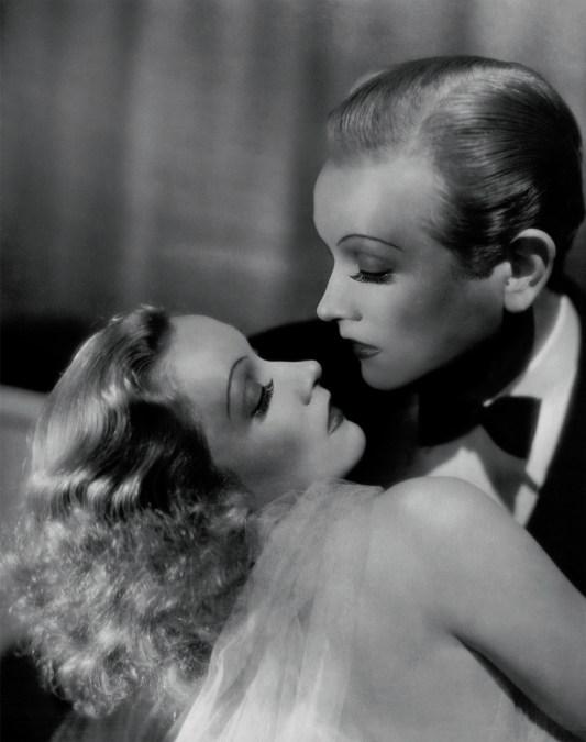 Díptico Marlène Dietrich : Masque & Narcisse © Edouard Taufenbach et Bastien Pourtout.